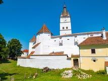 Anglosaxaren stärkte kyrkliga Harman också som var bekant som Honigberg i Tra Royaltyfri Foto