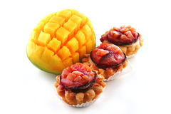 Ango and small fruit pies Stock Image