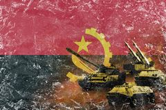 Angola army, military forces Stock Photography
