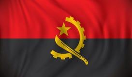 angola flagę Obraz Stock