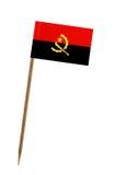 angola flagga Royaltyfri Bild