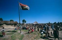 angola huambo Royaltyfri Fotografi