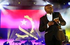 Angola musiker, Rei Helder, musikkändis Royaltyfri Foto