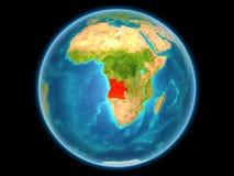 Angola na planety ziemi Obraz Royalty Free