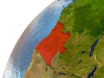 Angola na ziemi Fotografia Stock
