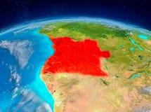 Angola på jord Royaltyfri Fotografi