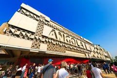 Angola Pavilion - Expo Milano 2015 Royalty Free Stock Photography