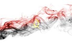 Angola rökflagga Arkivbild