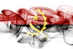 Angola rökflagga Royaltyfri Bild
