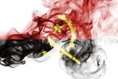 Angola rökflagga Royaltyfria Foton