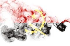 Angola smoke flag Stock Photos