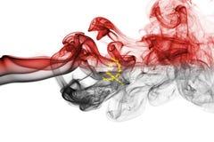 Angola smoke flag Stock Images