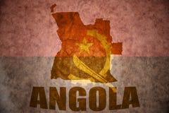 Angola tappningöversikt Royaltyfri Bild