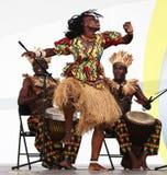 Angola toont Royalty-vrije Stock Foto