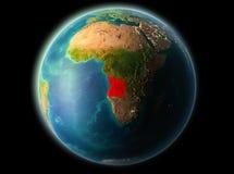 Angola w wieczór ilustracji