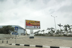 Angolan Billboard Royalty Free Stock Photos