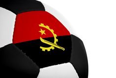 Angolan Flag - Football Stock Images