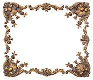 Angoli decorati della foto Fotografia Stock