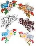 Angoli dell'uccello Fotografie Stock