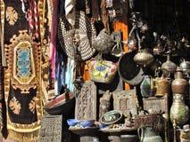 Angoli nelle vie del ld Medina a Marrakesh nel Marocco immagini stock libere da diritti