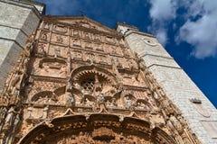 Angolo basso della chiesa del San Pablo fotografia stock