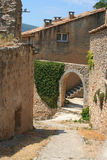 Angolo in Bonnieux, Francia Fotografia Stock Libera da Diritti
