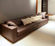 Angolo del sofà Fotografie Stock Libere da Diritti