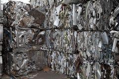 Angolo dell'iarda del residuo Fotografia Stock