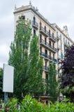 Angolo della Camera a Barcellona, Spagna fotografia stock