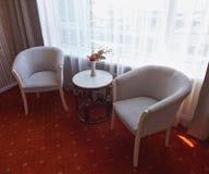 Angolo della camera di albergo Fotografia Stock Libera da Diritti