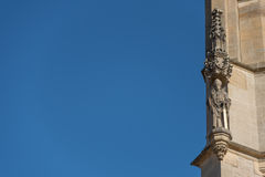 Angolo della chiesa di StBarbara in Kutna Hora Fotografie Stock Libere da Diritti