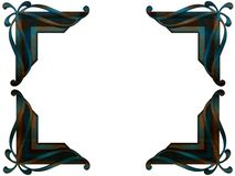 Angolo della foto di patina artificiale Fotografia Stock Libera da Diritti