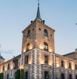 Angolo della scuola del convento di San AgustÃn, costruita all'inizio dello XVI secolo per l'alloggio dello studente all'universi Fotografia Stock Libera da Diritti