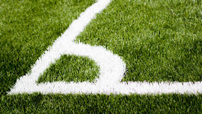 Angolo di calcio Immagine Stock Libera da Diritti