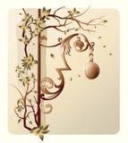 angolo di disegno del fiore Fotografie Stock