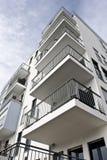 Angolo di edificio residenziale fotografia stock libera da diritti