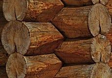 Angolo di legno Immagine Stock