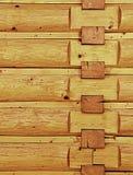 Angolo di legno della parete Immagine Stock Libera da Diritti