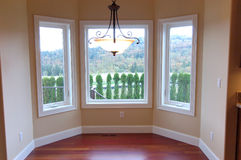 Angolo di lusso della Camera con la vista Fotografia Stock