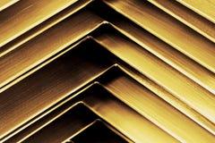 Angolo di metallo di Abtract fotografia stock