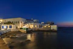 Angolo di Mykonos Fotografia Stock Libera da Diritti