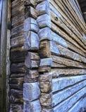 Angolo di vecchia casa Immagini Stock