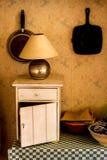 Angolo interno della sala da pranzo Fotografie Stock