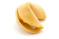 Angolo laterale del biscotto di fortuna Fotografia Stock