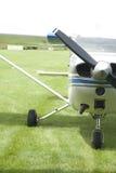 Angolo laterale dell'aereo Fotografia Stock Libera da Diritti