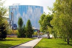 Angolo pittoresco di Yekaterinburg. Fotografia Stock