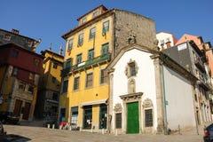 Angolo pittoresco nella vecchia città. Oporto. Il Portogallo Immagine Stock