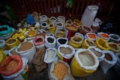 Angolo quadrato del palazzo di Patan Fotografia Stock