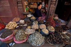 Angolo quadrato del palazzo di Patan Immagini Stock Libere da Diritti