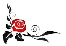 Angolo rosa dell'estratto Immagine Stock